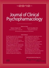 Neue Publikation im Journal of Clinical Psychopharmacology